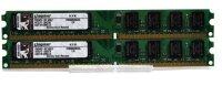 Kingston KVR 4 GB (2x2GB) KVR800D2N6/2G DDR2-800 PC2-6400...