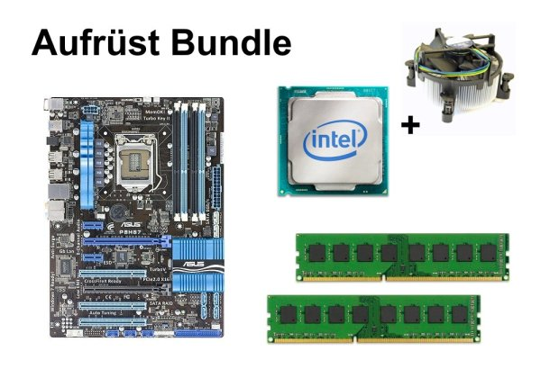 Aufrüst Bundle - ASUS P8H67 + Intel Core i5-2300 + 16GB RAM #101149