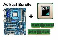 Aufrüst Bundle - Gigabyte 790XTA-UD4 + Athlon II X2...