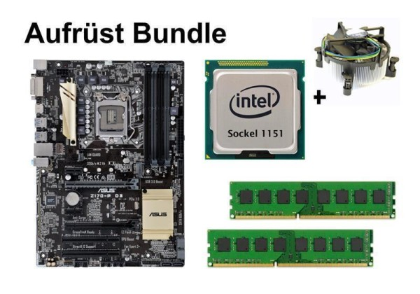Aufrüst Bundle - ASUS Z170-P D3 + Intel Core i5-6400 + 8GB RAM #124448