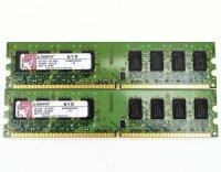 Kingston KVR 4 GB (2x2GB) KVR800D2N6/2G 240pin DDR2-800...
