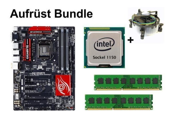 Aufrüst Bundle - Gigabyte Z97X-Gaming 5 + Intel i7-4790 + 16GB RAM #85537