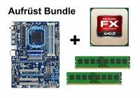 Aufrüst Bundle - Gigabyte 870A-USB3 + AMD FX-4350 +...