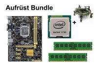 Aufrüst Bundle - ASUS H81M-A + Intel i3-4160 + 4GB...