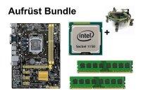 Aufrüst Bundle - ASUS H81M-A + Intel i3-4130 + 4GB...
