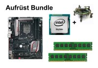 Aufrüst Bundle ASUS Maximus VIII Ranger + Intel Core...