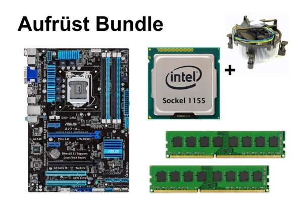 Aufrüst Bundle - ASUS Z77-A + Intel i7-3770K + 4GB RAM #100143