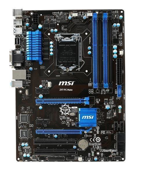 Aufrüst Bundle - MSI Z97 PC Mate + Intel Core i7-4770 + 4GB RAM #115507
