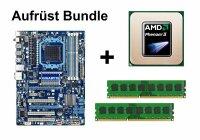 Aufrüst Bundle - Gigabyte 870A-USB3 + Phenom II X2...