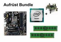 Aufrüst Bundle Gigabyte B150M-D3H + Intel Core...