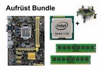 Aufrüst Bundle - ASUS H81M-PLUS + Intel i7-4770K +...