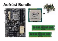 Aufrüst Bundle - ASUS Z170-P D3 + Intel Core i5-6600 +...