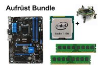 Aufrüst Bundle - MSI Z97 PC Mate + Intel Core i7-4771 +...