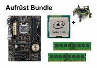 Upgrade Bundle - ASUS H97-PLUS + Intel i3-4160T + 4GB RAM...