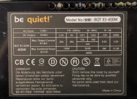 Be Quiet Straight Power E5 400W (BN033) ATX Netzteil 400...