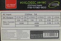 MS-Tech MS-N790-eco ATX Netzteil 790 Watt   #27990