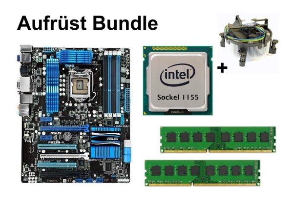 Aufrüst Bundle - ASUS P8Z68-V + Intel i3-2130 + 16GB RAM #106587