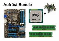 Upgrade Bundle - ASUS P8Z77-V LX + Intel i3-2130 + 4GB...