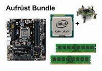 Aufrüst Bundle Gigabyte B150M-D3H + Intel Pentium...