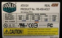 Cooler Master RS-450-ACLY ATX Netzteil 450 Watt   #27746