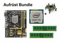 Aufrüst Bundle - ASUS H87M-E + Intel i7-4770K + 4GB...