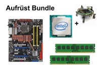 Aufrüst Bundle - ASUS P5E + Intel E7500 + 4GB RAM...