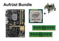 Aufrüst Bundle - ASUS B85-Plus + Intel Core i3-4130...