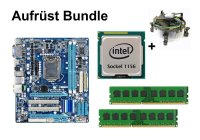 Aufrüst Bundle - Gigabyte H55M-D2H + Intel i3-540 +...