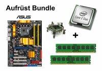 Aufrüst Bundle - ASUS P5Q + Intel E4500 + 4GB RAM...