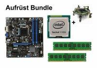 Aufrüst Bundle - MSI B75MA-P45 + Intel i3-2130 +...