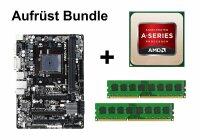 Aufrüst Bundle - Gigabyte F2A88XM-HD3 + AMD A8-6600K...