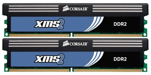 Corsair 4 GB (2x2GB) CM2X2048-6400C5C 240pin DDR2-800 PC2-6400   #6020
