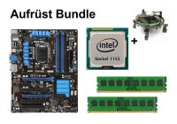 Aufrüst Bundle - MSI Z77A-G43 + Intel i3-2100 + 4GB RAM...