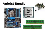 Aufrüst Bundle - ASUS P6X58D-E + Intel i7-940 + 6GB...