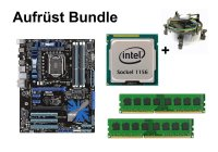 Aufrüst Bundle - ASUS P7P55D + Intel i5-750 + 16GB RAM...