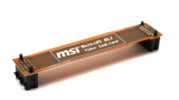 MSI Multilink-GPU SLI Brücke Bridge flexibel 90mm   #27835