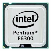 Intel Pentium Dual-Core E6300 (2x 2.8GHz) SLGU9 CPU...