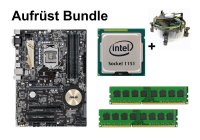 Aufrüst Bundle - ASUS Z170-K + Intel Core i5-6600 +...
