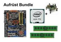 Aufrüst Bundle - ASUS P5E WS Pro + Intel Q6600 + 4GB...