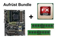 Aufrüst Bundle - ASUS Sabertooth 990FX + AMD FX-6200 +...