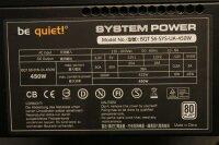 Be Quiet System Power S6 80Plus 450W (BN090) ATX Netzteil...