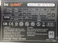 Be Quiet Straight Power E6 550W (BN086) ATX Netzteil 550...