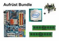 Aufrüst Bundle - Gigabyte GA-X48-DS4 + Intel Q6600 +...