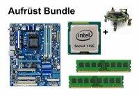 Aufrüst Bundle - Gigabyte P55A-UD3 + Intel i5-750 +...