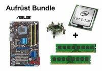 Aufrüst Bundle - ASUS P5QL Pro + Intel Q6600 + 4GB...