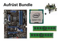 Aufrüst Bundle - MSI P67A-GD53 + Intel i5-3450 + 4GB...