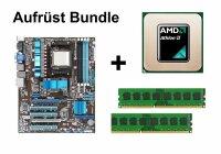 Aufrüst Bundle - ASUS M4A785TD-V EVO + Athlon II X4...