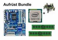 Aufrüst Bundle - Gigabyte P55-USB3 + Intel i5-750 +...