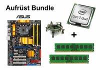 Aufrüst Bundle - ASUS P5Q + Intel Q6600 + 4GB RAM...