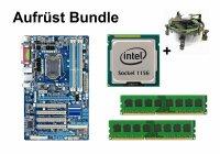 Aufrüst Bundle - Gigabyte P55-UD3L + Intel i5-750 +...